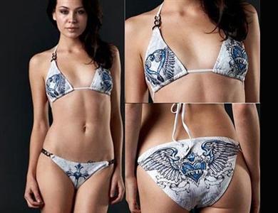 Miss Puerto Rico Sublimated Bikini