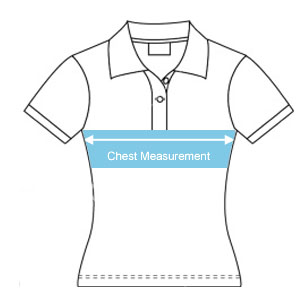 womens sublimated polo shirt