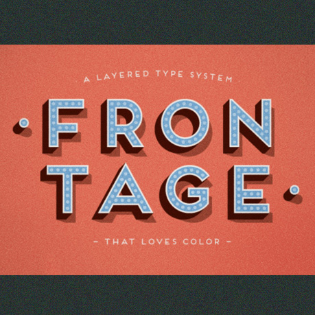 Frontage Free Font 2