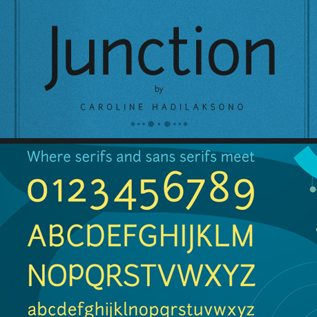 Junction Free Font