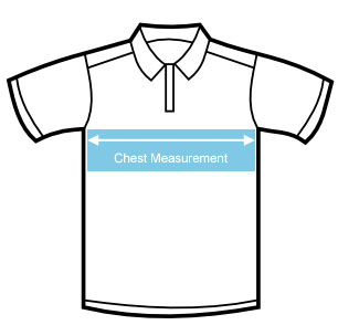 Childs Polo Shirt Size Chart